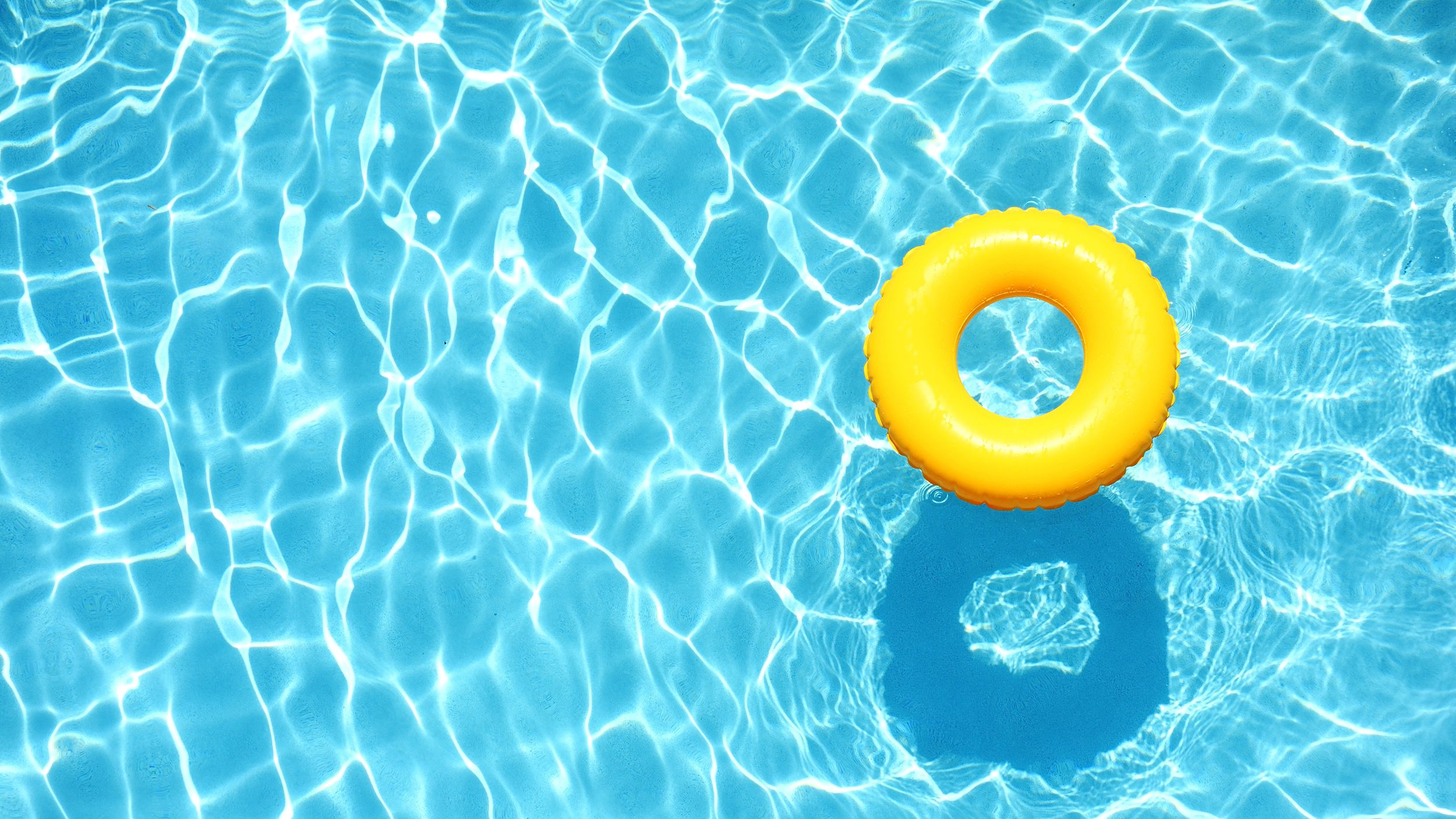 Clear Blupool float